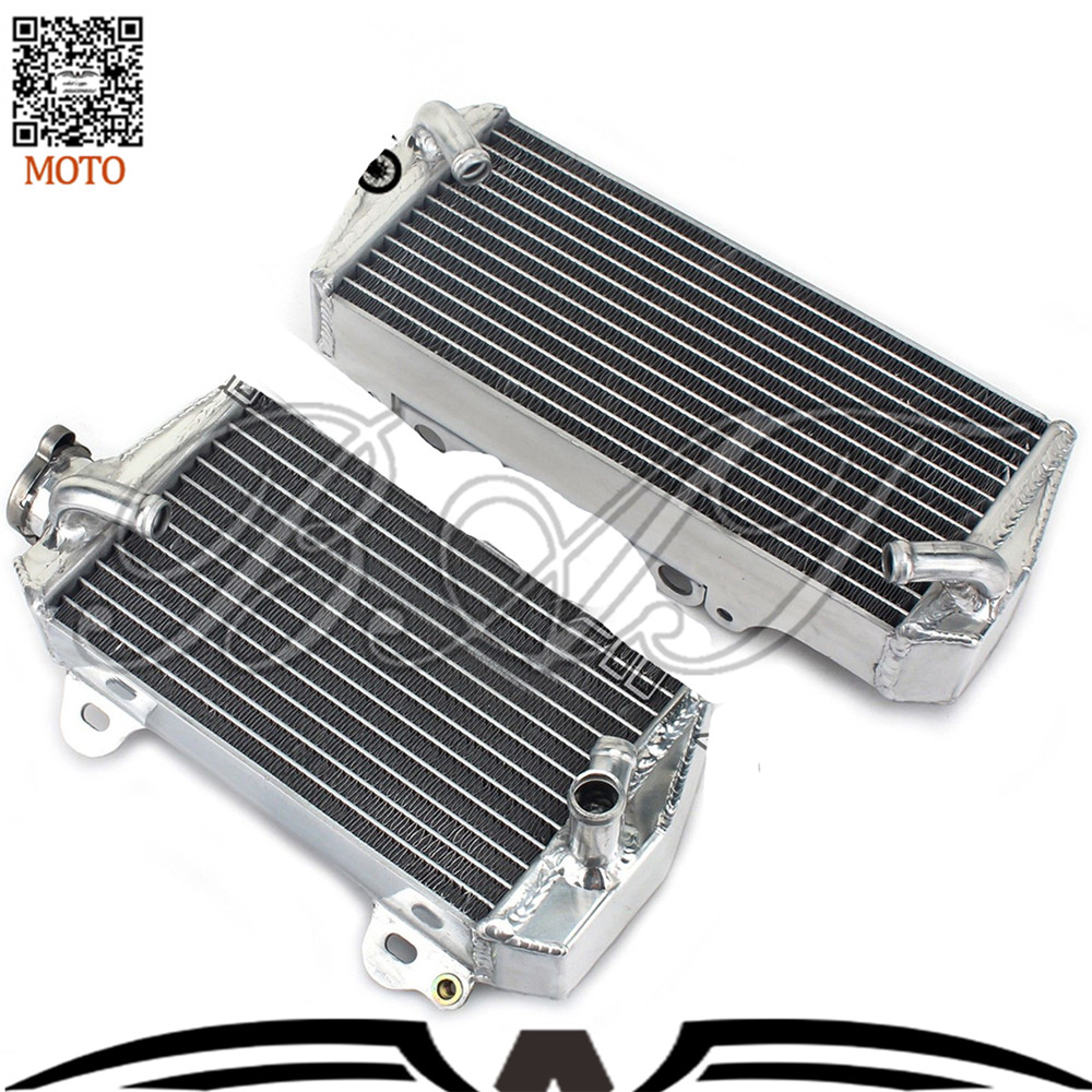 Motorcycle Accessories Cooling Aluminum Cooler Radiators for Suzuki RMZ RM-Z 450 2008 2009 2010 2011 2012 Motorbike Radiator
