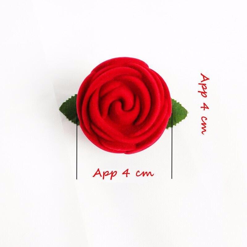 Wifehelper Romantique en Forme de Coeur Bo/îte De Bague De Mariage Rose Strass D/écor Anneau Oreiller Coussin Anneau Oreiller Porteur Oreillers #1