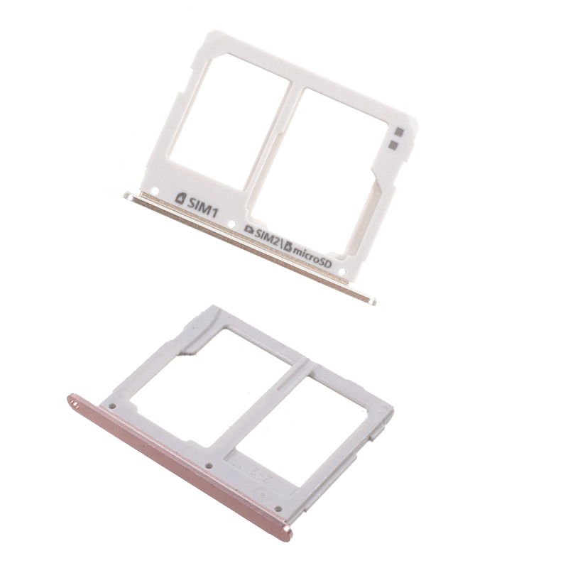 Dual SIM Micro SD Card Tray Slot For Samsung Galaxy A3 A310 A5 A510 A7 A710 2016 Card Reader Holder