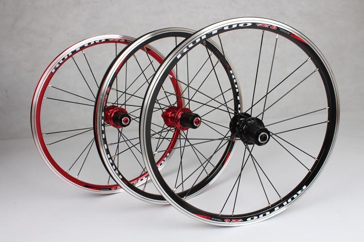 20inch RT *1 3/8 V /Disc Brake 5 Peilin sealed bearing ultra smooth 451/406 wheel wheels BXM folding bike Rim Rims