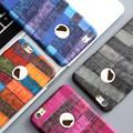 Dr. caso de van gogh arte para iphone 7 plus caso 3d pintura al óleo cuero de la pu volver cajas del teléfono para iphone 6 s plus hit color de lujo Capa