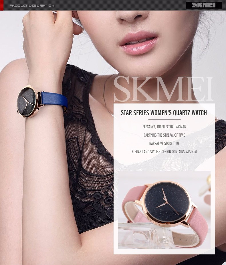 17 Hot sales watch women clock dress watch skmei brand women's Casual Leather quartz-watch Analog women's wrist watch gifts 2  17 Hot sales watch women clock dress watch skmei brand women's Casual Leather quartz-watch Analog women's wrist watch gifts HTB19MduOFXXXXcNapXXq6xXFXXXy