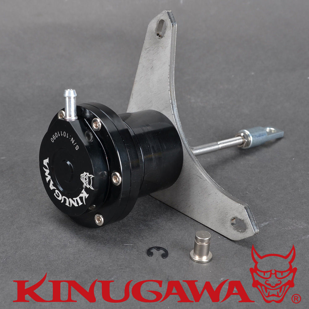 Kinugawa Adjustable Turbo Wastegate Actuator for IHI VICF / for ISUZU Trooper 4JX1T 3L 1.0 bar / 14.7 Psi
