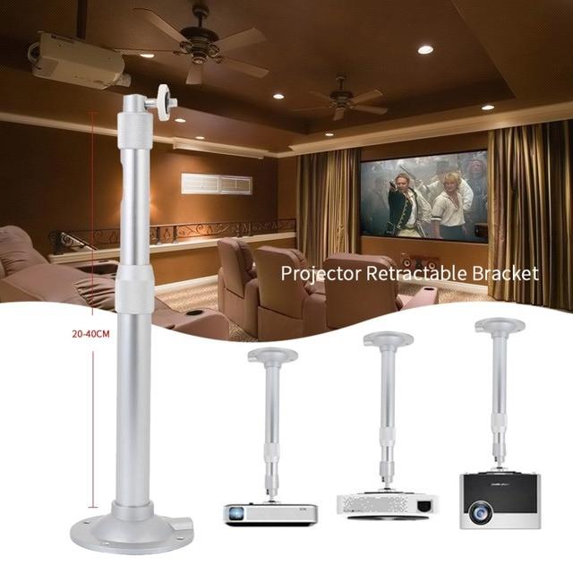 Ordinaire Projector Holder Projector Mount Durable Universal 20 40CM Retractable DLP Projector  Ceiling Bracket