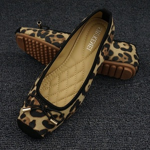 Image 3 - Leopard Flats Loafers Women Driving Shoes Slip On Moccasins Ladies Comfort Fordable Flat Shoes Ballerines Flats Chaussures Femme