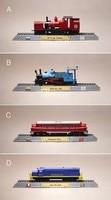 Miniature Internal Combustion Engine Simulation Model Steam Train Retro Nostalgia Edition Decoration Decoration Figure 4pcs Set