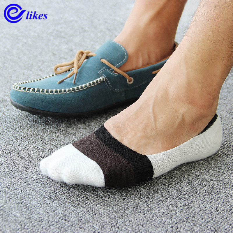 7Pairs Mens Bamboo Invisible Ankle Socks Men Summer Casual Loafer Moccasins No Show Socks Male Black White Boat Socks Man Sox