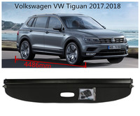 For Volkswagen VW Tiguan 2017 2018 Rear Trunk Security Shield Cargo Cover High Qualit Auto Accessories Black / Beige