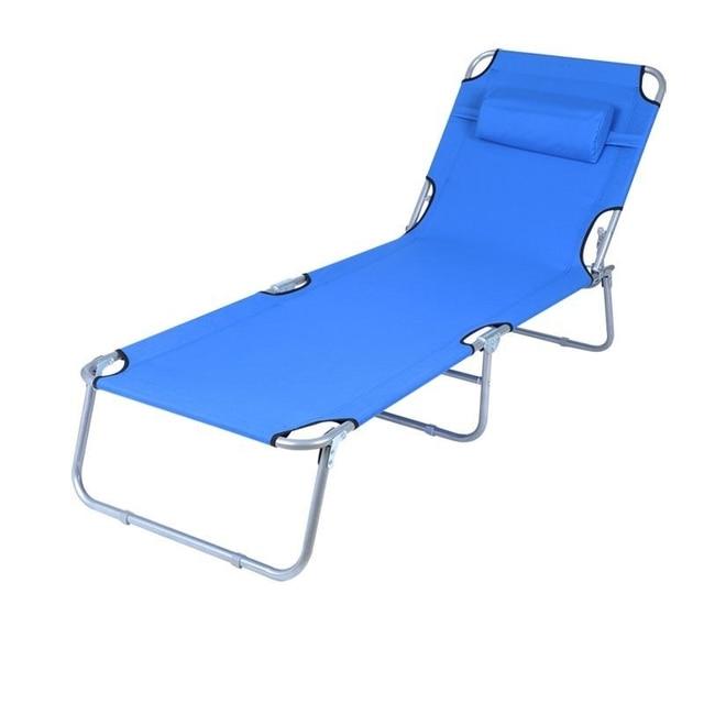 Soleil Silla Playa Patio Chair Balcony Camping Cama Plegable Folding Bed Salon De Jardin Garden Outdoor