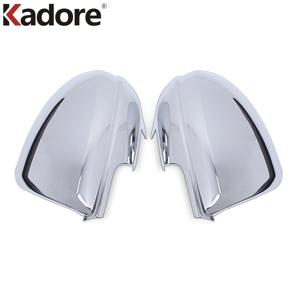 цена на For Mazda 3 M3 2010 2011 2012 ABS Chrome Side Door Mirror Cover Trim Rearview Mirror Decorator 2pcs Car Covers