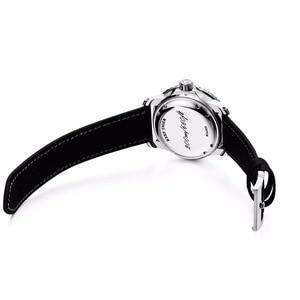 Image 4 - Resif Kaplan/RT Erkek Dalış Saatler Naylon Kayış Mavi kadranlı saatler Işık Otomatik İzle Tarih RGA3039