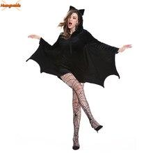 Trajes de Batman para Mujer, vestido Sexy de carnaval, Disfraz Mujer, Disfraz de Halloween para Mujer, vestido de fiesta de fantasía, Cosplay, club nocturno