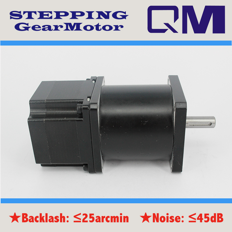 ФОТО  Gear stepper motor planetary  gearbox ratio 40:1  nema 23  stepper motor L=42mm