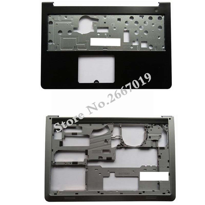 New For Dell for Inspiron 15-5000 5545 5547 5548 15M Laptop Palmrest Upper case+Base Bottom Cover Lower Case D P/N 0WHC7T new laptop base bottom case d cover for dell for inspiron 14r n4120 bottom base lower case without 49p21 049p21 3cr06bcwi10