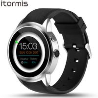 ITORMIS W500 Android 5.1 Fashion Smart Watch Smartwatch Wristwatch 16G ROM 3G SIM Sport Fitness GPS Heart Rate for Android