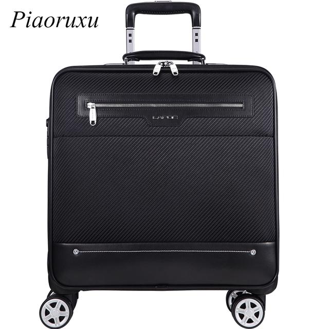 Oxford cloth Wheel Luggage Metal Trolley Bag Men Travel Hand Trolley Men Bag Large Capacity Travel Luggage Bags Suitcase Trip Lu