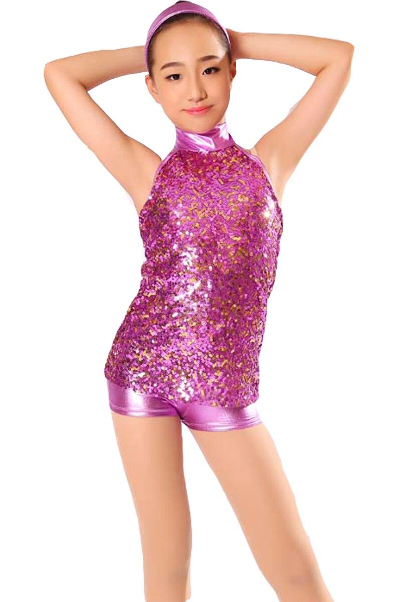 Pailletten Mädchen Ballroom Latin Dance kleid Kinder Ballett Jazz Leistung Kostüme wettbewerb skating kleider kleid ballsaal frauen