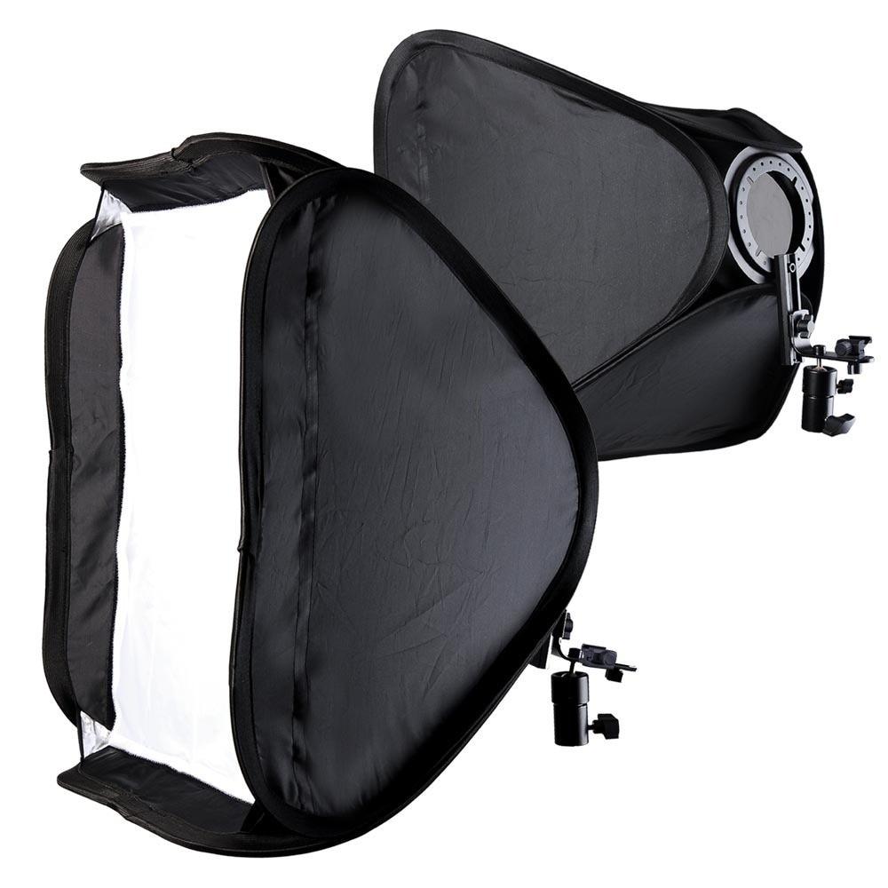 "60x60cm 24"" Photo Studio Foldable Softbox Diffuser Kit for ..."