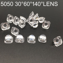 LED Lens Reflector Collimator For 5050 SMD 30 60 90Degree Convex Optical Lens Reflector Collimator