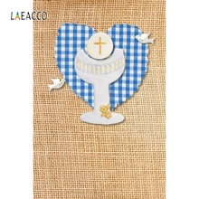 Laeacco Holy Grail Peace Pigeon Glitter Cross Portrait Photography Background Banner Photographic Backdrops For Photo Studio
