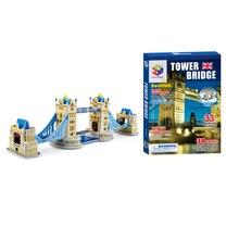 33 pcs 3D Tower bridge Modo de construção Puzzles Brinquedos Quebra-cabeças Jogos de Aprendizagem Educacional Crianças Jigsaw Brinquedos para Presente de Natal
