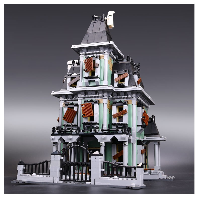 IN STOCK New LEPIN 16007 2141Pcs Monster fighter The haunted house Model set Building Kits Model Compatible With10228 lepin 16007 2141pcs monster fighter the haunted house model set building kits model compatible with 10228 educational toys gifts