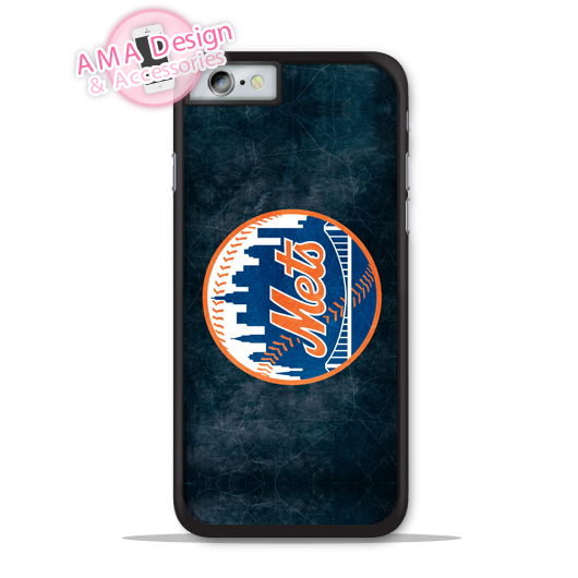New York Mets Baseball Sport Phone Cover Case For Apple iPhone X 8 7 6 6s Plus 5 5s SE 5c 4 4s For iPod Touch