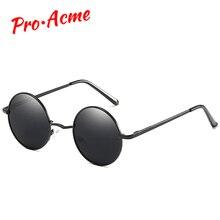 44c81778a5 Pro Acme Prime Classique Mode Polarisées lunettes de soleil rondes homme  femme Vintage Rétro Miroir Revêtement lunettes de solei.