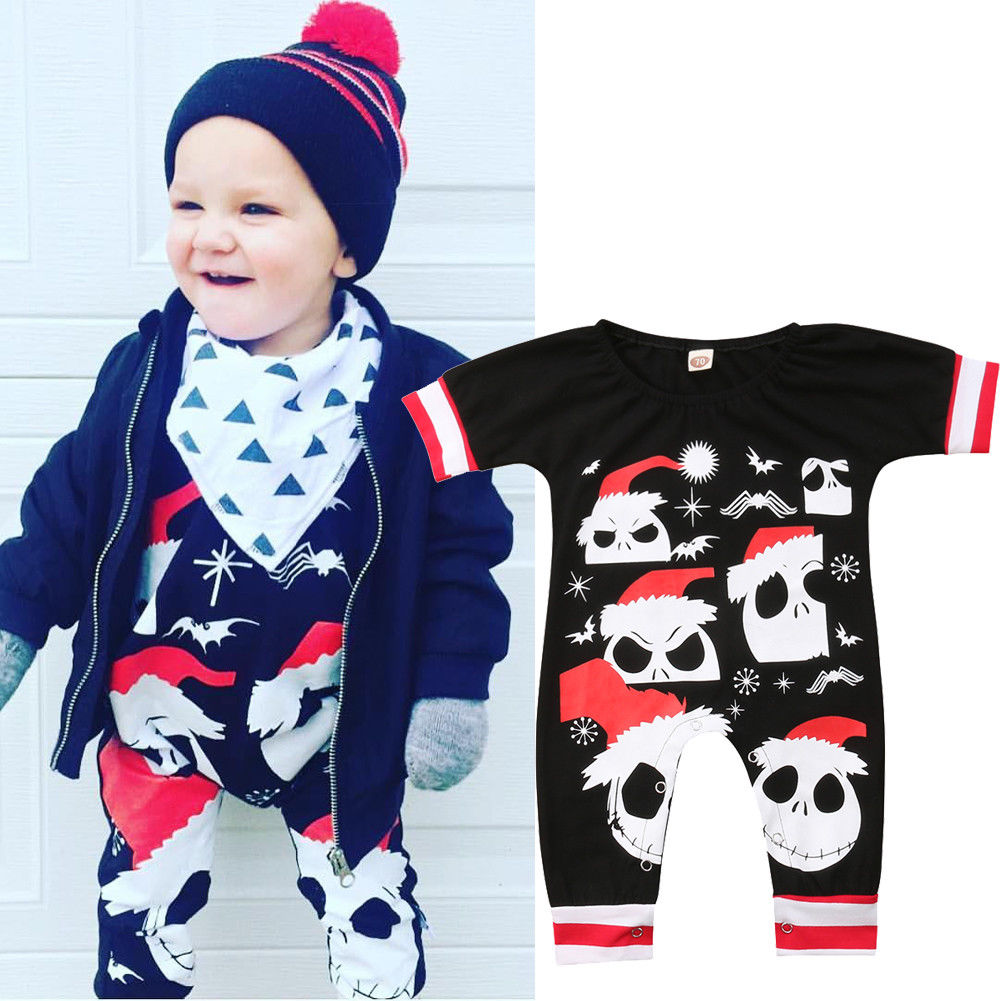 0-24M halloween costume for kids Clothing Newborn Infantil Baby Boy Girls Cartoon Romper Jumpsuit Clothes cute Outfits цена