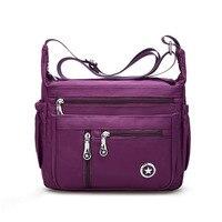 Women S High Quality Crossbosy Bag Waterproof Handbag Casual Bag Nylon Messenger Bags Light Travel Shoulder