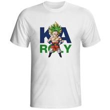 I Am Karoly Fusion Of Kakarotto And Broli T-shirt Punk Pop Cool Anime T Shirt Casual Print Creative Women Men Top