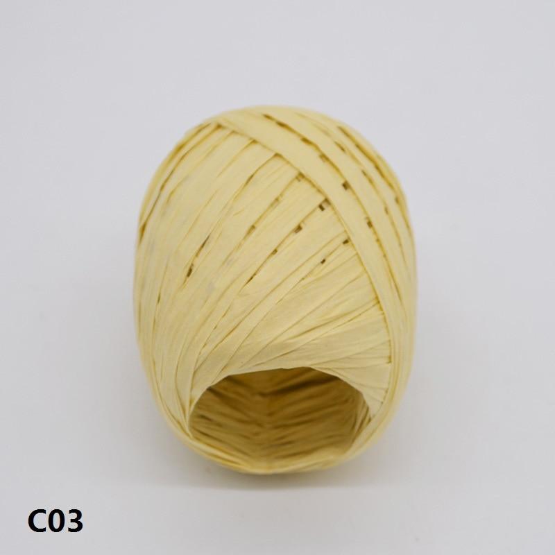 Us 081 20 Off20 Mt Bast Papier Ribbon Natürliche Seil Diy Geschenk Verpackung Papier Seil Dekorationen Geburtstag Hochzeit Liefert