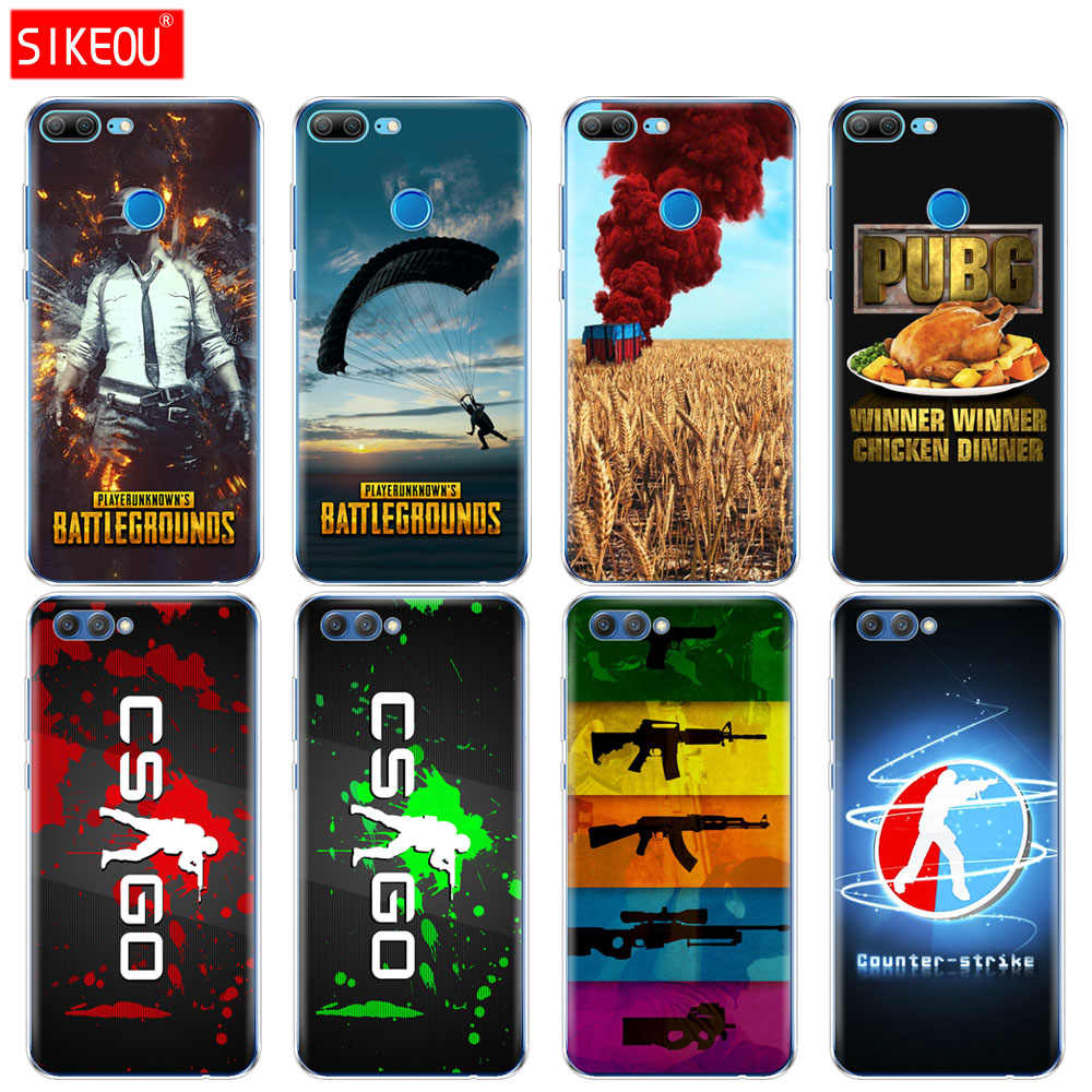 Silicone Cover phone Case for Huawei Honor 10 V10 3c 4C 5c 5x 4A 6A 6C pro 6X 7X 6 7 8 9 LITE Counter Strike CS GO PUBG