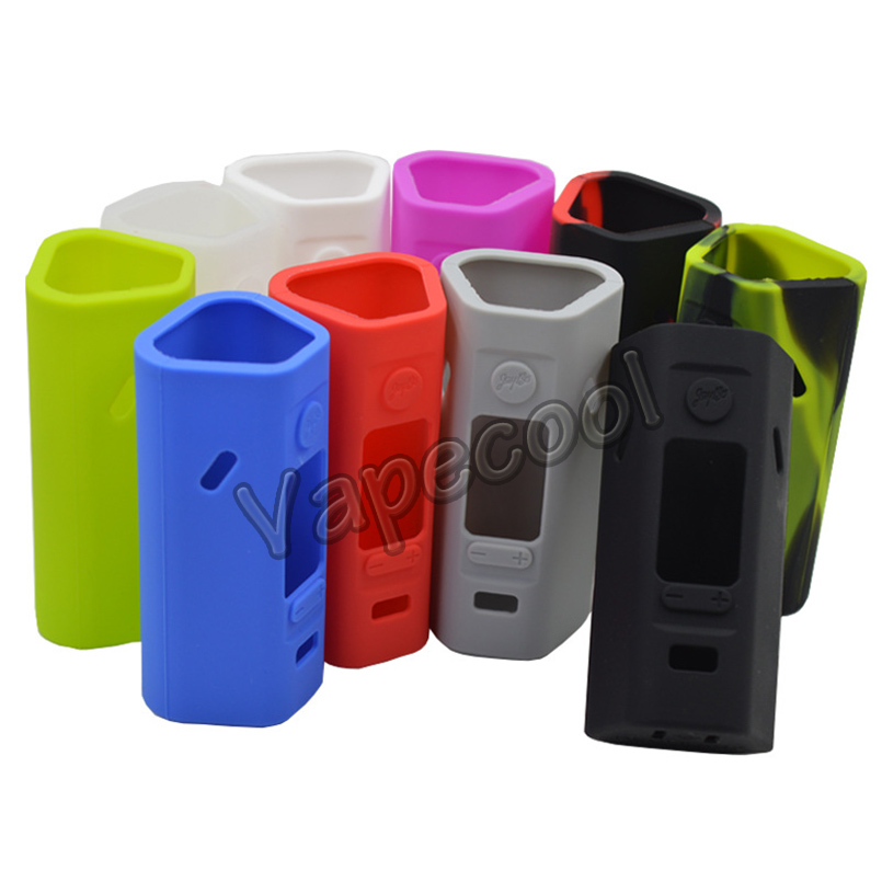 1set with 2pcs Silicone sticker/sleeve/case Wismec Reuleaux RX2/3 150W 2cells box mod and  reuleaux RX 2/3 200W 3cells mod