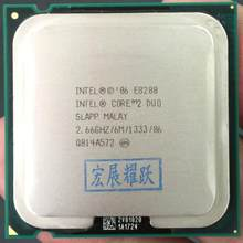 Intel Core 2 Duo Processor E8200 (6M Cache, 2.66 GHz, 1333 MHz FSB) ALAPP CO LGA775 Desktop CPU Intel central processing unit(China)