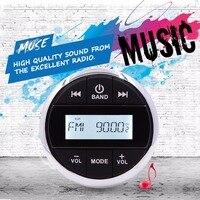 Водостойкая радио Bluetooth аудио музыкальный приемник морская Bluetooth стерео система