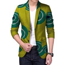 Custom made african blazer men african print bright dashiki suit tailor made blazers custom africa clothing