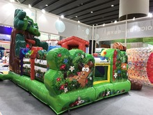 Small Size Indoor Inflatable Bouncers With Printing For Kids