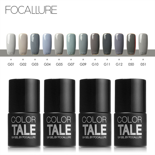 Focallure 12ml Soak Off Gel Nail Polish Nail Gel Polish UV Gel Lak ...
