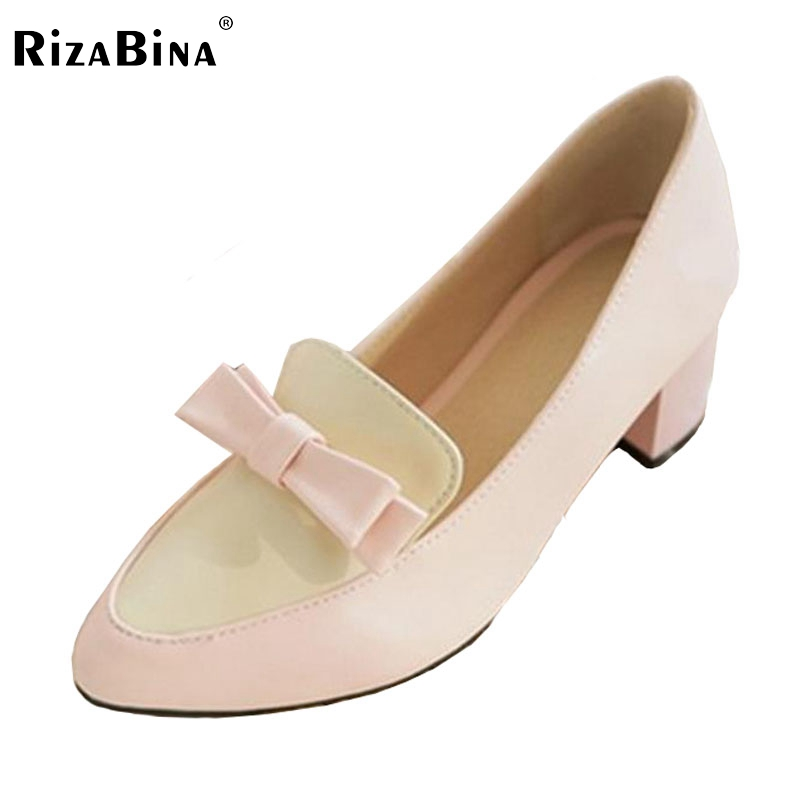 RizaBina ladies leisure casual flats shoes pointed toe lady loafers sexy spring women brand footwear shoes size 34-43 P16232 kbstyle 2017 new spring shoes for women brand pointed toe womens flats fashion young ladies casual shoes hot sale wholesale