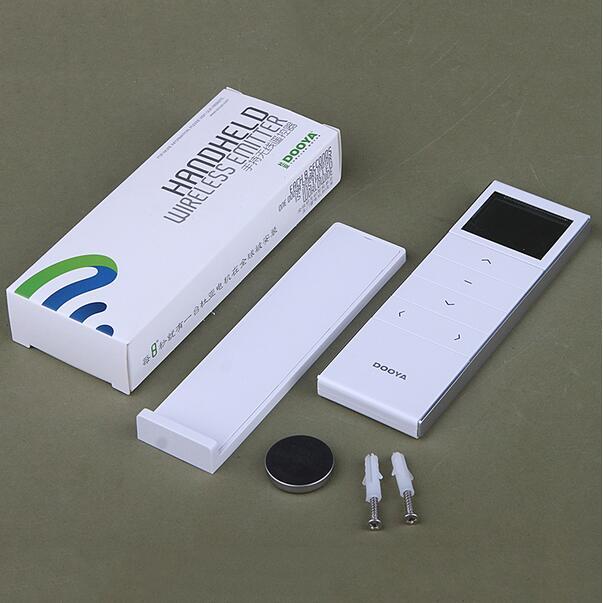 Télécommande de minuterie de canaux simples de Dooya de maison intelligente pour des pistes ou des moteurs motorisés de rideau