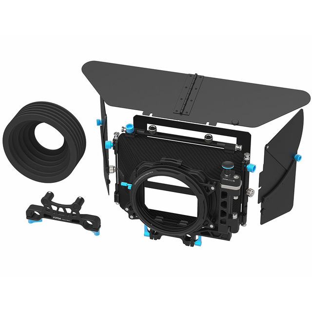 FOTGA DP500III PRO DSLR Swing-away 90 Dfegree for Quick Change of Lens Matte Box for 15mm/19mm Rod Camera Rig fotga dp500iii 15mm to 19mm rail rod clamp adapter for dslr qr follow focus rig f21812