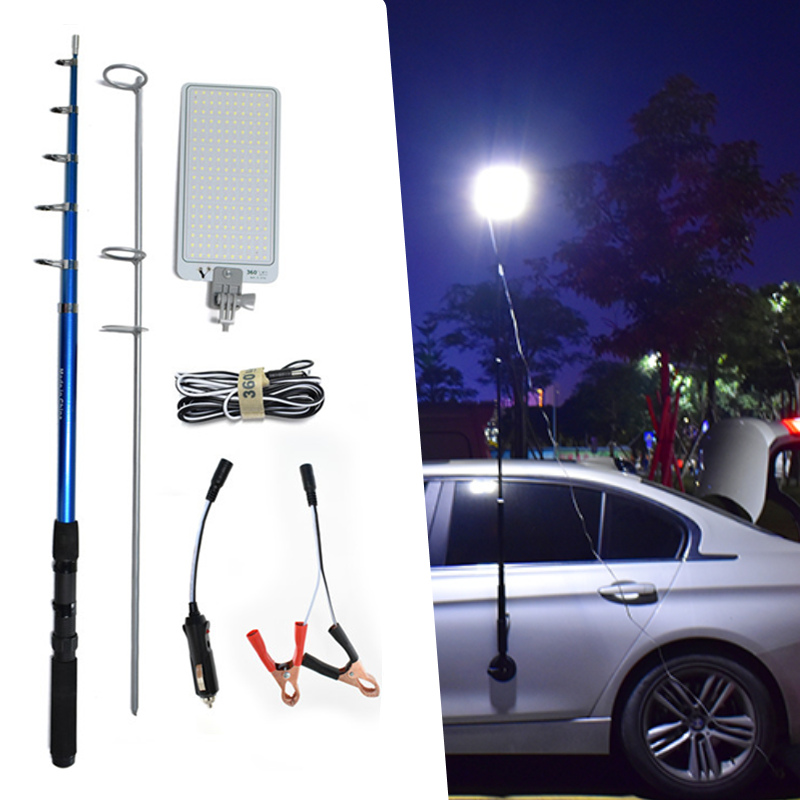 Durable Aluminum LED Work Camp Auto Lamp Lantern With RF Remote Magnetic Mounts