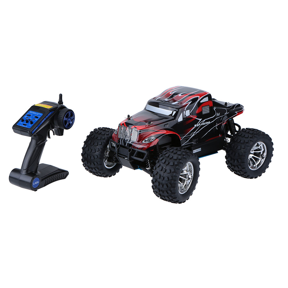 Brand New Original HSP 94188 2.4Ghz 2CH Transmitter Nitro Powered 18CXP 1/10 RTR 4WD Off-road RC Car image
