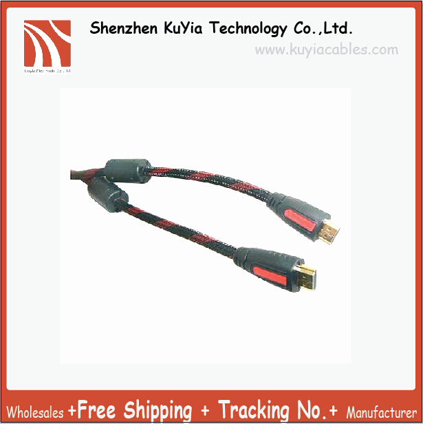 KUYiA Hot selling Free Shipping 20M 67FT New Premium High Speed HDMI To HDMI Cable M