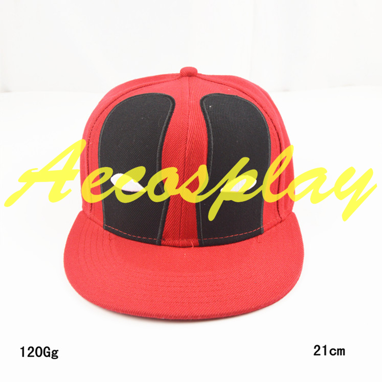 Spedizione gratuita Deadpool Cappello di Snapback Caps Planas Hip Hop Berretto Da Baseball In Cotone Per Uomini Donne Sport swag Tappo Osseo