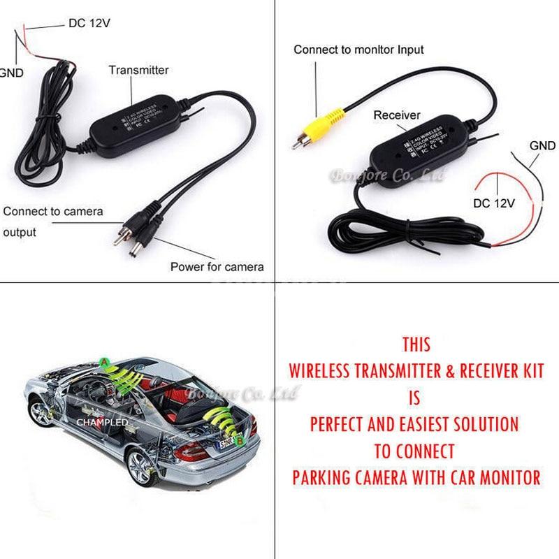 Koorinwoo Wireless Car Kit 4.3