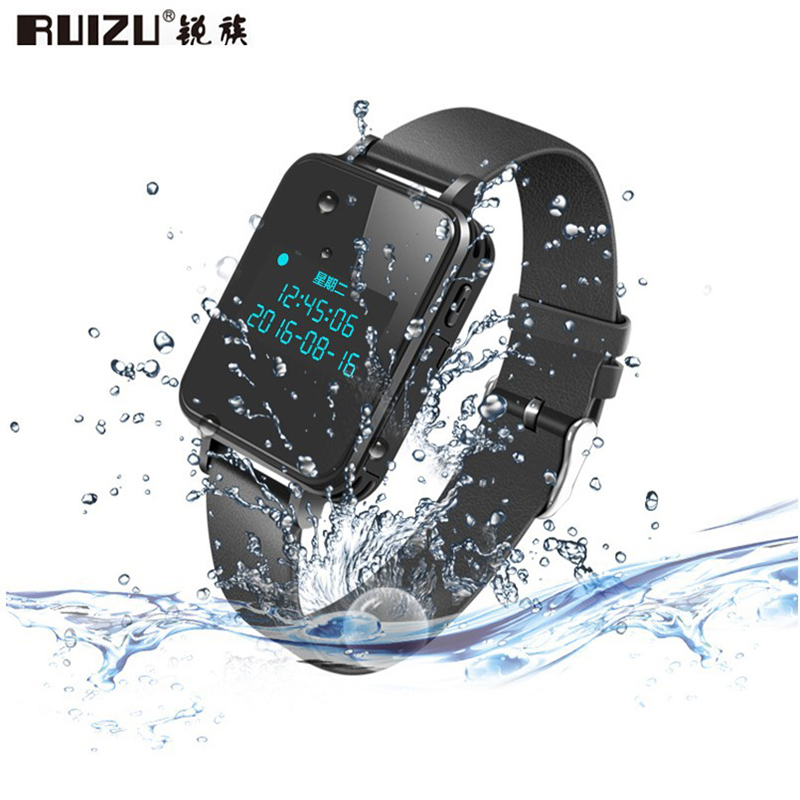 RUIZU K18 MP3 HiFi Music Player Sport Watch Bluetooth Professional Voice Recorder 16GB/8 ...