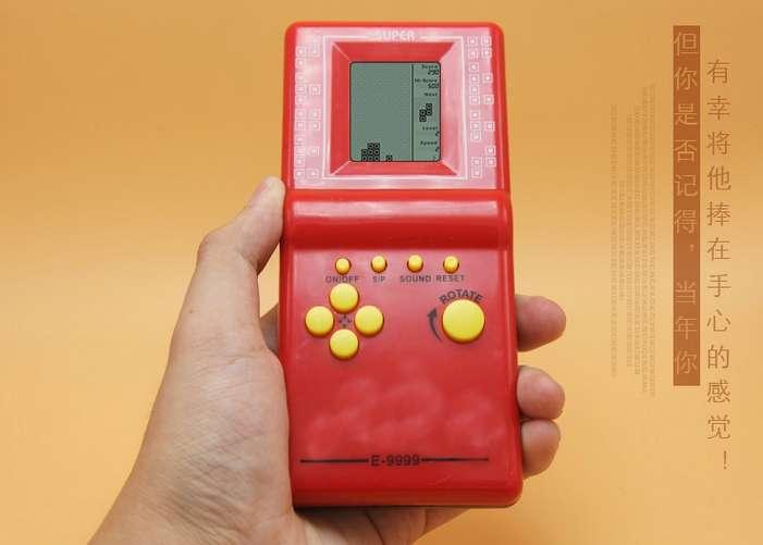 Classic Russian box game handheld small handheld nostalgic children educational toys gift