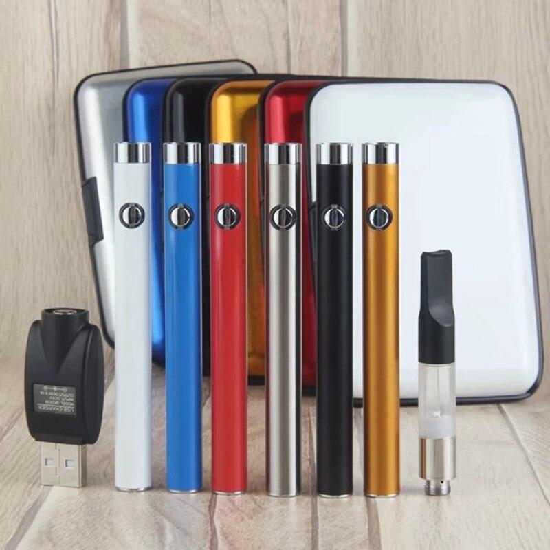 , Bud + CE3 Cartridge Starter Kit with 280mAh Buttom O Pen Bud Vape battery 0.5/1.0ml Ce3 Atomizer E Cigarettes Vaporizer eCig